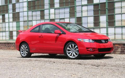Driver's Log Gallery: 2010 Honda Civic Si Coupe
