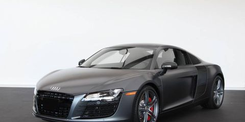 The 2012 Audi R8 V8 Exclusive Selection Edition comes in both automatic and manual.