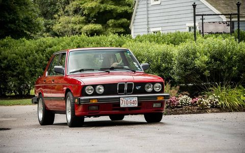 The E28 5-series is one of our favorite saloons from BMW.