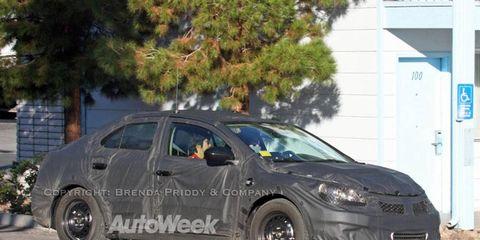 Spied: Suzuki Kizashi hybrid