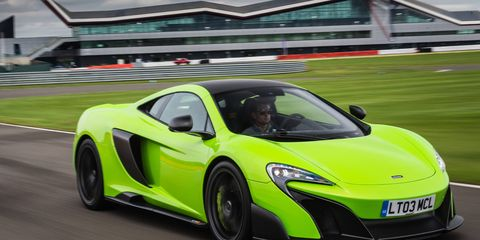 The McLaren 675LT Longtail shares two thirds of its parts with the 650S.