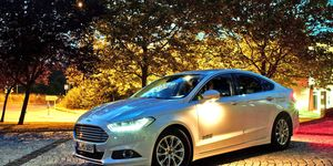 Ford of Europe has been working on lighting systems that can track up to eight pedestrians at one time.