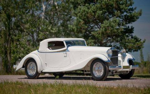 1933 Delage D8S Roadster