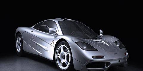 The McLaren F1 supercar went for $4.1 million.