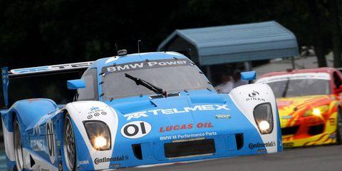 The car of Scott Pruett and Memo Rojas.