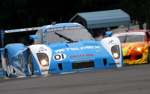 The car of Scott Pruett and Memo Rojas.