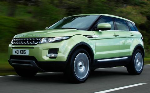The Range Rover Evoque goes on sale this fall.