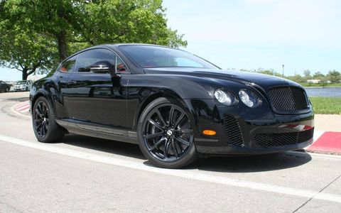 Driver's Log Gallery: 2010 Bentley Continental Supersports