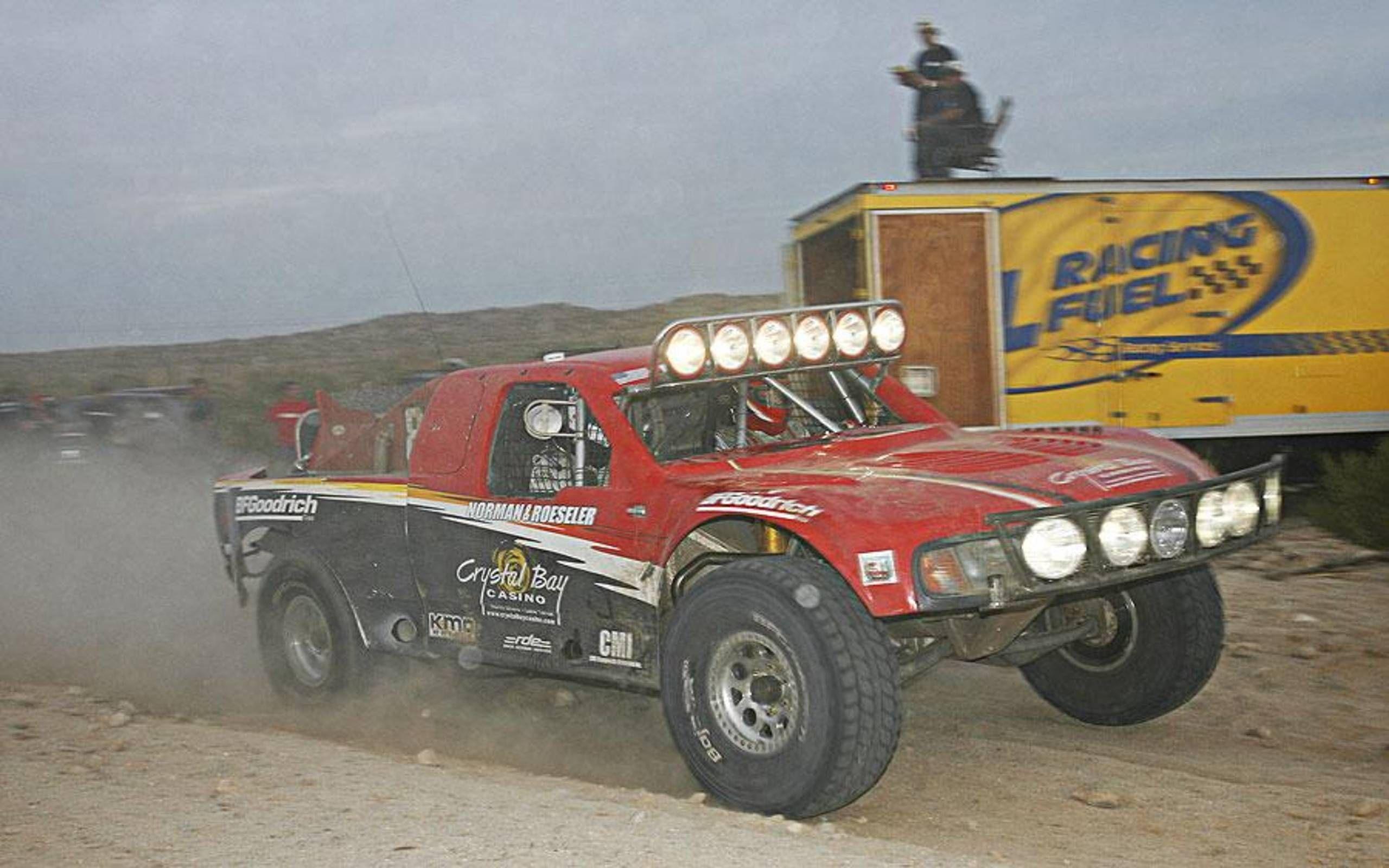 Larry Roeseler Scores 13th Baja Win
