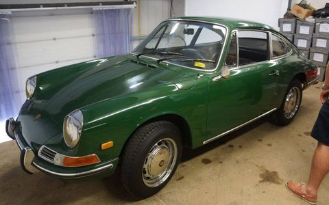 One of the newer Porsches in the Anglia sale.