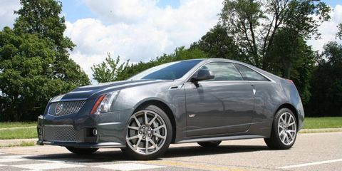An AW Flash Drive: 2010 Cadillac CTS-V Coupe