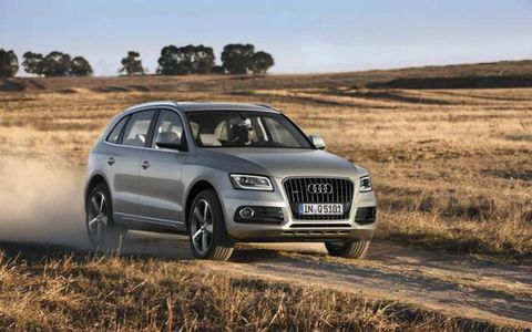 The 2013 Audi Q5 3.0 TFSI Premium Plus is a bit of a beast weighing in at 4,345.