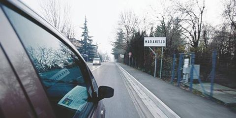 A famous road sign welcomes all.