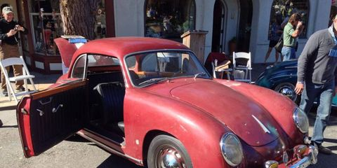 It looks like a Porsche but it's a 1954 Dannenhauer and Stauss Coupe. This one was in one family for 50 years and was used as a daily driver for the first ten.