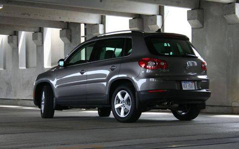 Driver's Log Gallery: 2010 Volkswagen Tiguan SE
