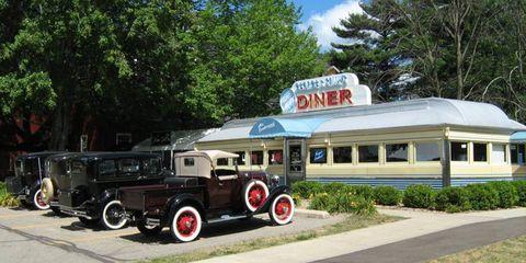The Diner at Gilmore Musem.