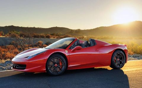 Hennessey boosts power on the 458 to 738 hp.