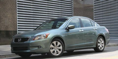 Driver's Log Gallery: 2010 Honda Accord EX Sedan