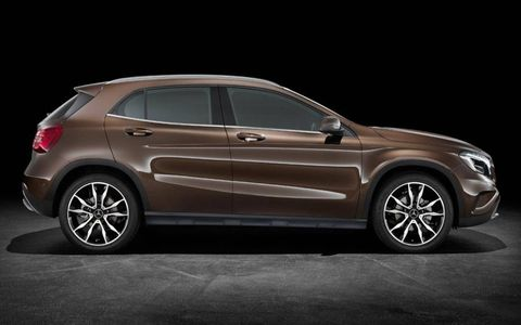 A profile of the 2015 Mercedes-Benz GLA