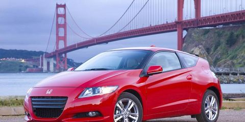 Driver's Log Gallery: 2011 Honda CR-Z EX
