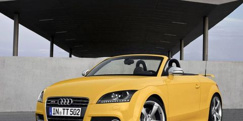 Only 500 examples of the Audi TTS competition will be produced.