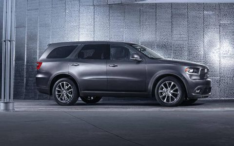Two engines are offered in the Durango, a 290-hp V6 and a 360-hp V8.