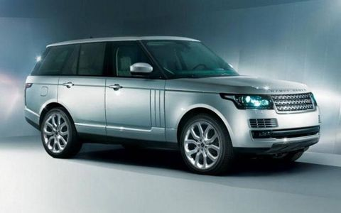 The upcoming Range Rover features a front end redesign that references the Evoque.