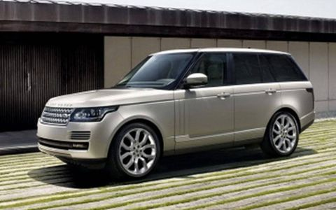 The trademark tall Range Rover greenhouse remains.