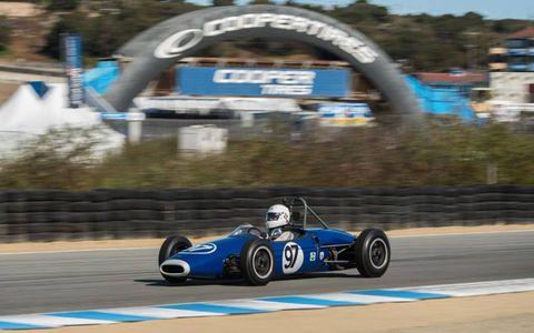 A 1963 Brabham BT6.