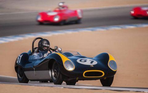 A 1959 Lola Mk I.