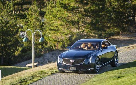 The Cadillac Elmiraj concept. Like El Mirage, get it? And like El Dorado? Get that, too?