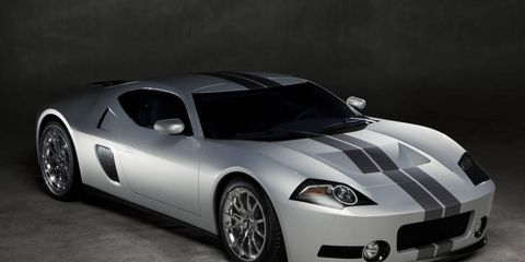 The GTR1 imagines what teh Ford GT would look like had the model been continued.