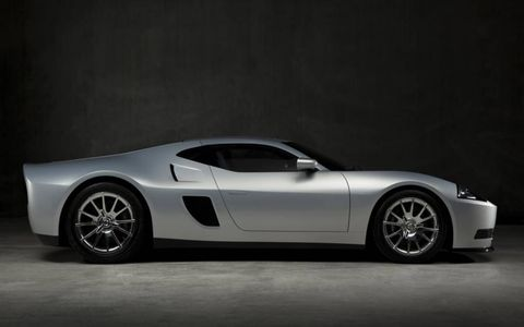 From the side profile you can see some of the Shelby GR-1, which inspired the Galpin Auto Sports GTR1.