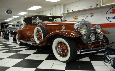 Frank and Milli Ricciardelli's 1930 Cadillac.