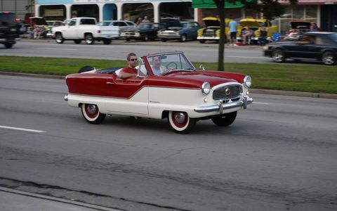 How much fun would a Nash Metropolitan be to roll in during the Dream Cruise?