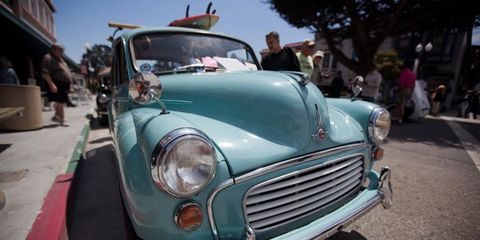 The Little Car Show was held in downtown Pacific Grove, CA on August 15th, 2012.