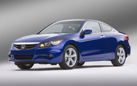 Updated Honda Accord Coupe and Sedan
