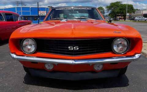 We guarantee there's going to be more than one 1969 Camaro SS on Woodward this weekend, but this one probably has the most interesting story behind it.