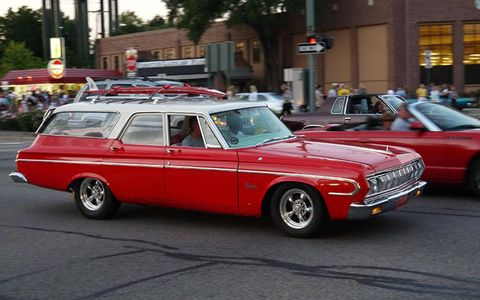 When was the last time you saw a Plymouth Belvedere station wagon?