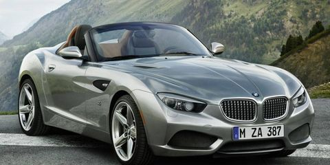 BMW says it took six weeks to create the Zagato roadster.
