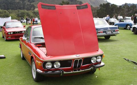 BMW CCA West Coast Summer Concours