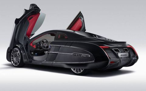 The McLaren X-1 concept is based on the MP4-12C sports car.