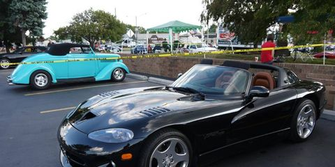 Of course the Viper makes a splash at every Dream Cruise.