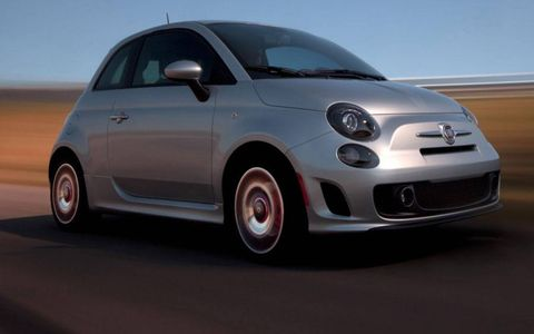 The 2013 Fiat 500 Turbo is rated at 135 hp.