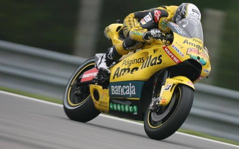Czech Republic Brno 13-15 August 2010 Hector Barbera Paginas Amarillas Aspar Ducati