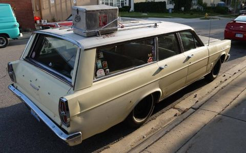 This Ford wagon is a strong contender for Stoy's favorite Dream Cruise ride.