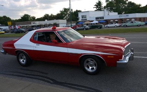 Starsky and Hutch on Woodward Avenue!