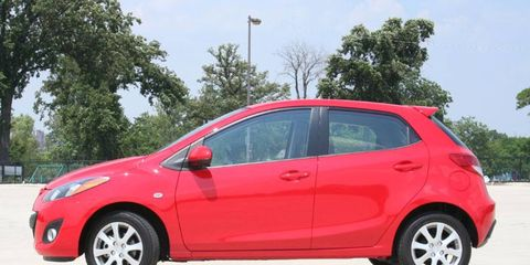 Driver's Log Gallery: 2011 Mazda 2 Touring