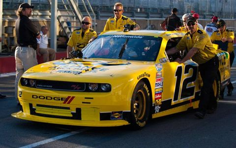 Sam Hornish Jr. finished second at Montreal on Saturday.