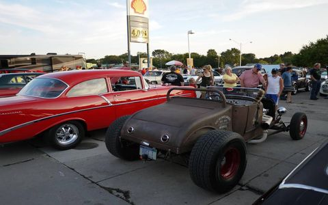 Rat rods are well represented at the 2012 Dream Cruise.